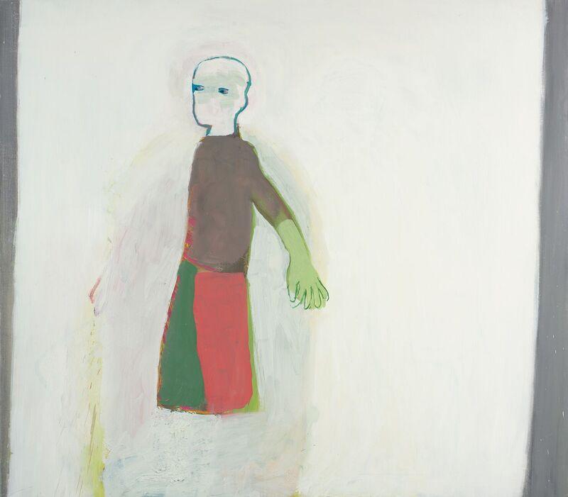 <strong>1a. Duizendvijf, 2010, olieverf op linnen, 110x125 cm</strong>