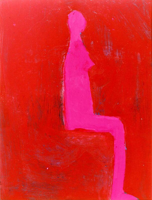 <strong>2e. 84B, 1997, gouache, lak op papier, 31x24 cm <div class=verkocht>VERKOCHT</div></strong>