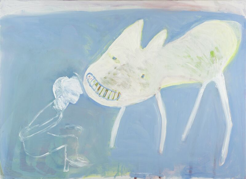 <strong>3a. Zeshonderdnegentien, 2009, olieverf op linnen, 135x185 cm</strong>