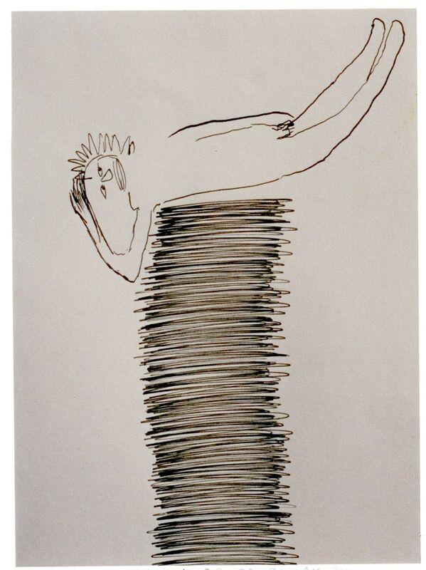 <strong>5d. 1997, 54A, inkt op papier, 30x24 cm <div class=verkocht>VERKOCHT</span></strong>