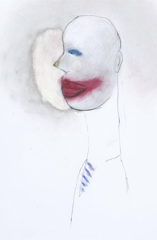 <strong>6a. 201D, 2006, grafiet en pastel op papier, ca. 45x30 cm</strong>