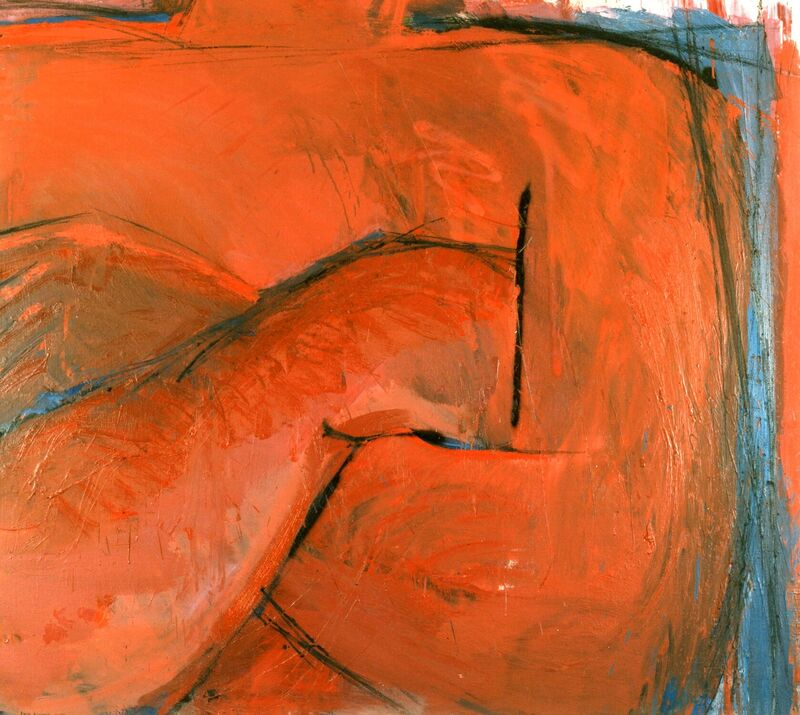 <strong>7a. Honderdveertien,1988, olieverf en houtskool op linnen, 110x125 cm <div class=verkocht>VERKOCHT</div></strong>
