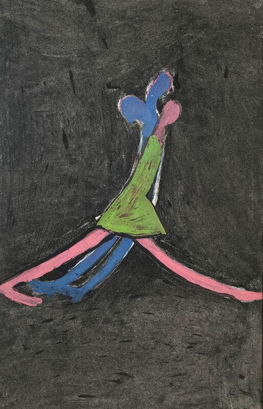 <strong>8b. 66E, 1997, houtskool, acrylverf, O.I.-inkt op papier, 48x31 cm</strong>