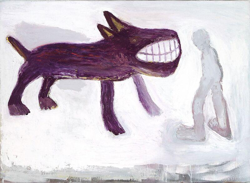 <strong>2c. Tweehonderdeenenzestig, 2003, olieverf op linnen, 80x110 cm <div class=verkocht>VERKOCHT</div></strong>