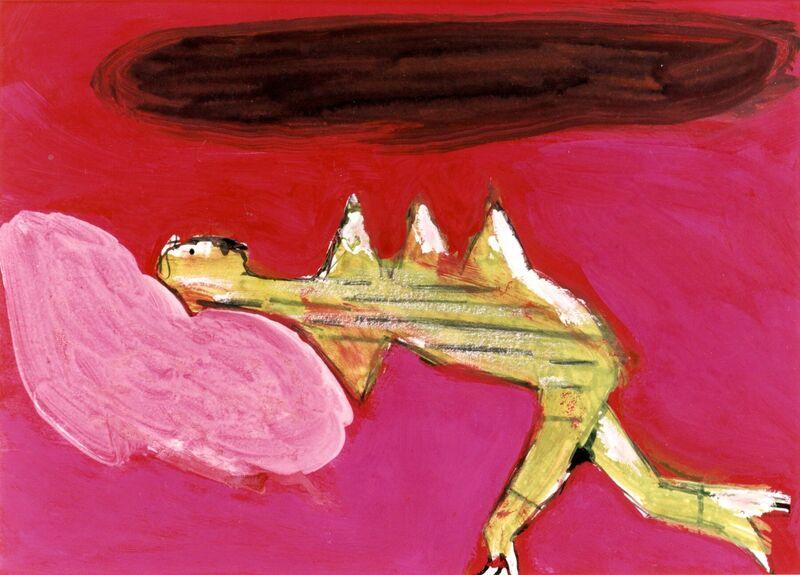 <strong>3b. 85B, 1997, gouache, potlood, inkt op papier, 22x31 cm <div class=verkocht>VERKOCHT</div></strong>