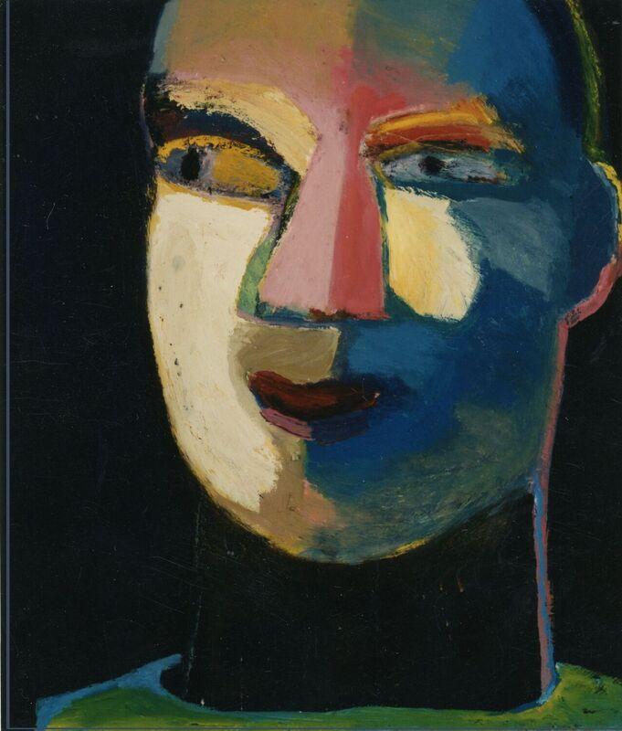 <strong>4b. Drieenveertig, 1993, olieverf op linnen, 70x60 cm</strong>