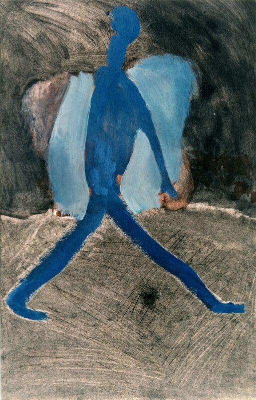 <strong>6d. 53C, 1997, gouache, houtskool op papier, 30x32 cm <div class=verkocht>VERKOCHT</div></strong>